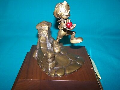 Walt Disney World Cast Member Exclusive 35 Year Service Award Pinocchio Statue