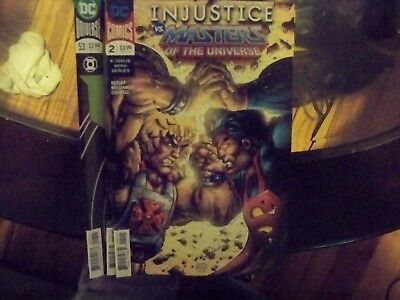 COMIC Injustice vs Masters of the Universe #2 8/15