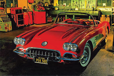 #2609 Shelby Classic American Muscle Car Poster 16X20
