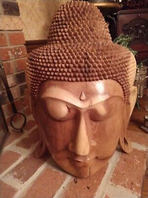 Gorgeous Buddha Carved Head, Beautiful, Imported From India