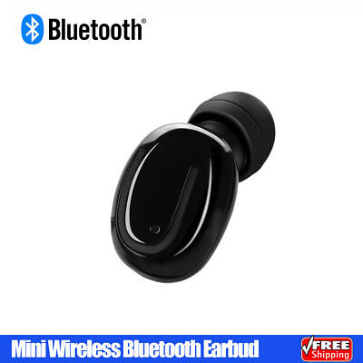 Mini Wireless Bluetooth Earbud Headphone Stereo Headset for iPhone Android Phone