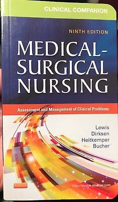 Clinical Companion to Medical-Surgical Nursing 9th Edition Elsevier EUC