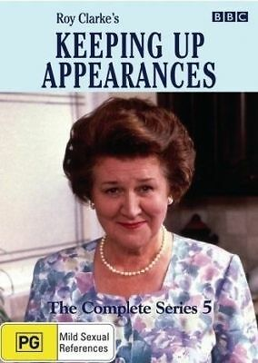 Keeping Up Appearances: Series 5 (DVD, 2-Disc Set) Region 4 - New and Sealed