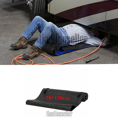 Universal 70*150cm Creeper Pad Black Automotive Car Truck Creeper Rolling Pad