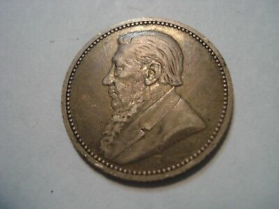 South Africa   Silver   6 D  1892