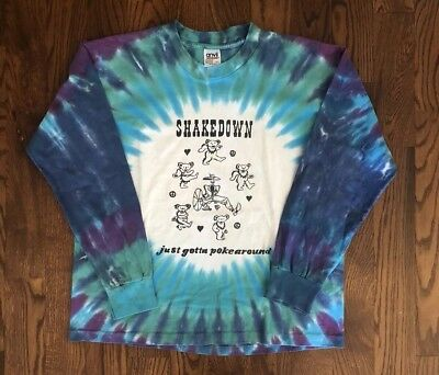 Vintage Grateful Dead Shirt - Lot Shirt - Tie Dye - Long Sleeve - Large