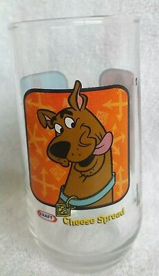 KRAFT Scooby Doo CARTOON NETWORK Collectables glass Tumbler Hanna- Barbera