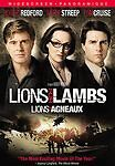 Lions for Lambs (DVD, 2008, Canadian Widescreen) GOOD