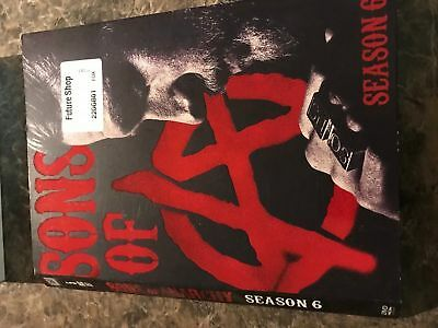 Sons Of Anarchy Season Six 6 - Dvd Size - Slip Cover Only