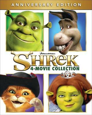 Shrek 4-Movie Collection [Blu-ray] [Import]