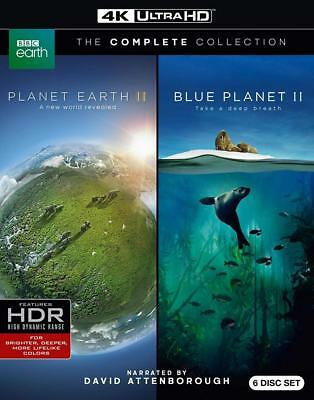 Planet Earth II and Blue II: The Collection (4K Ultra UHD) [Blu-ray]