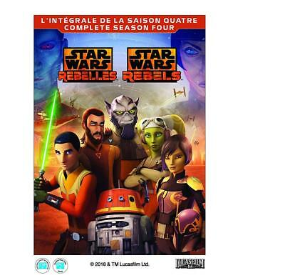 STAR WARS REBELS: COMPLETE SEASON FOUR (HOME VIDEO RELEASE) [Blu-ray]...