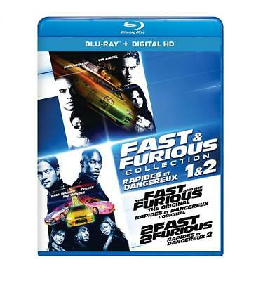 Fast & Furious Collection 1 & 2 [Blu-ray + Digital HD] (Bilingual)