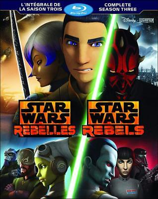 Star Wars Rebels: The Complete Season Three [Blu-ray] (Bilingual)