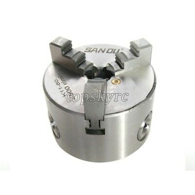 K11-80 Lathe Chuck 3 Jaw 80mm Self Centering Mini Lathe Chuck for CNC Drilling