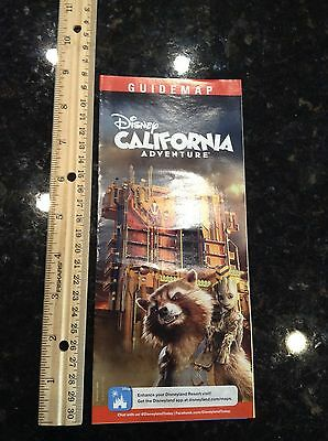 Disneyland California Adventure Guardians of the Galaxy Park Map and Guide