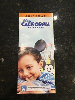 Disneyland California Adventure MICKEY WHEEL Park Map and Guide