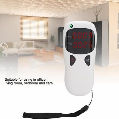 Formaldehyde Detector Indoor Home Air Quality Tester HCHO Meter TVOC Monitor OB