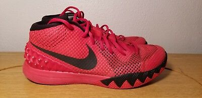 new style 780f7 ad26e Nike Air Kyrie 1 Deceptive Red Black 705277- 606 Mens Size 10 Jordan