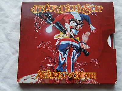 """Bruce Dickinson-"""" Accident Of Birth"""" Cd 1St Press 1997 Special Edition Slipcase"""