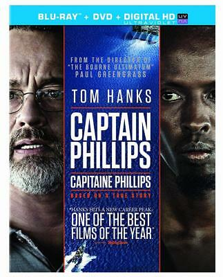 Captain Phillips [Blu-ray + DVD + UltraViolet Copy] (Bilingual)