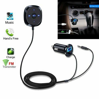 12V Bluetooth Handsfree Wireless Car FM Transmitter MP3 Player & USB Charger Kit