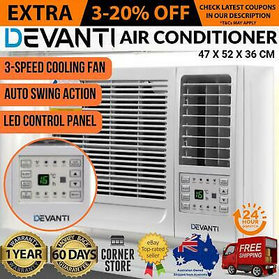 Devanti 1.6kw Window Wall Box Refrigerated Air Conditioner Cooler Cooling Only