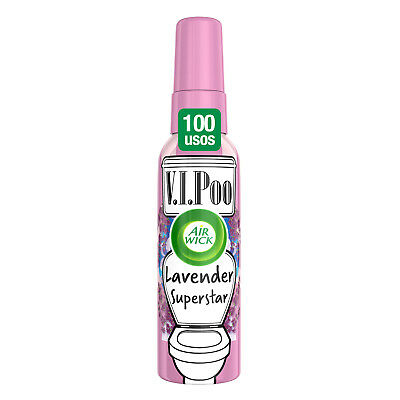Air Wick VIPoo Spray para el WC, Lavanda - 55 ml