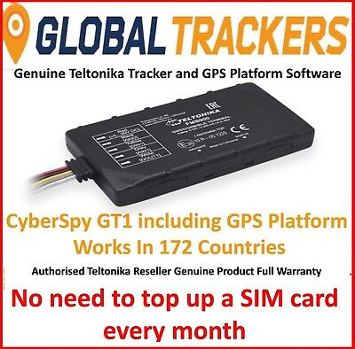 CyberSpy GT1 GPS Vehicle Car Tracker Professional Trade Fleet Tracking Device