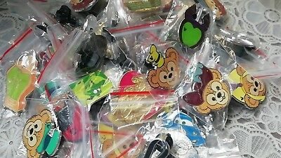 Disney Trading Pin  30 Assorted Pin Lot - Brand Pins - No Doubles - Tradable