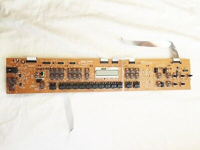 Roland Juno-D Synthesizer Panel Boards Assembly Left and Right. Working.