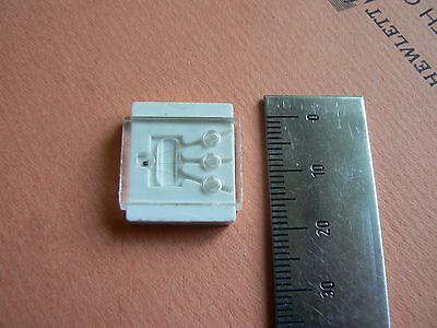 Lot of 4 pcs RARE KT307G GOLD Uncased Transistor Silicon NPN Soviet Russian NOS