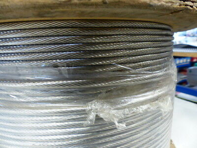 Cable Inox 6Mm 1X19 Aisi 316