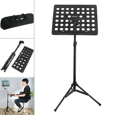 Lightweight Orchestral Conductor Sheet Music Stand Holder Tripod Base+ Carry Bag