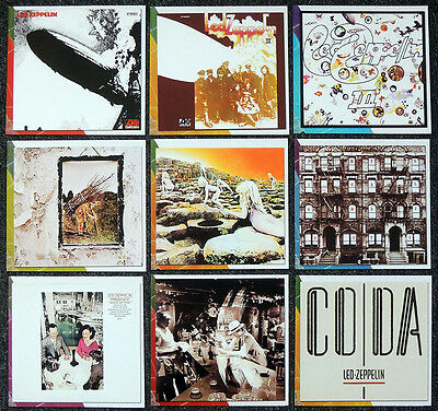 LED ZEPPELIN REPRO Album Covers Photo Cuts From Book   Jimmy