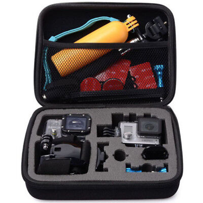 Travel Carry Case Bag For Go Pro GoPro Hero 3& 4& 5 Action Cam Camera Medium LN