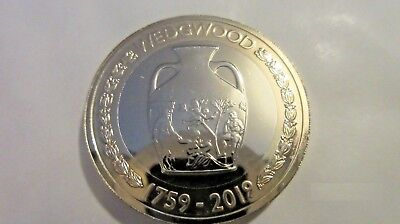 2019 Formation of Wedgwood, Two Pound Coin BU Uncirculated