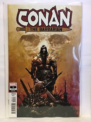 Conan The Barbarian #1 1:25 Zaffino Variant NM- 1st Print Marvel Comics