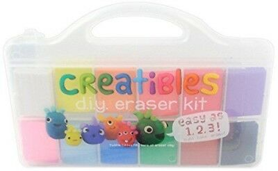 OOLY is now newly Creatibles DIY Erasers Set of 12 161-001 Stationery Drawing