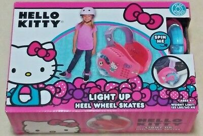 Hello Kitty Light Up Heel Wheel Skates | Light Up Wheels For My Shoes | Sanrio
