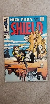 Nick Fury Agent of SHIELD #7  Double Cover