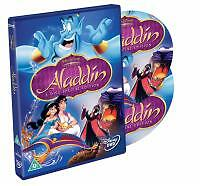 Aladdin DVD (2004) Ron Clements  WALT DISNEY CLASSIC 2 DVD SET  B7