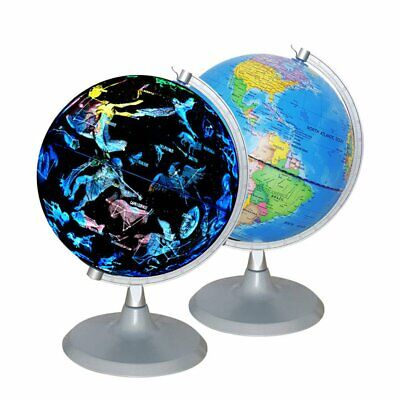 20cm Earth and Constellation Globe 2 in 1 Decoration Gift Educational Globe
