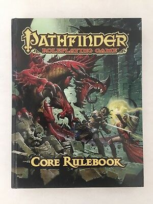 Pathfinder Core Rulebook by Jason Bulmahn (2009, Hardcover)