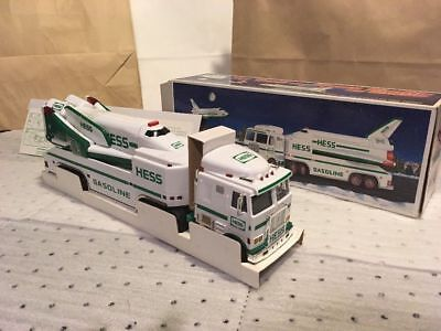 NIB 1999 Hess Toy Truck, Space Shuttle, Satellite - Collectible, Working Doors