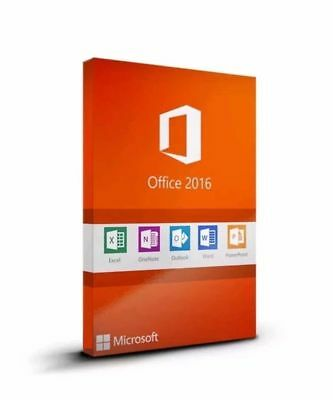 Microsoft Office 2016 Home & Business for Mac 3 User Instant DL