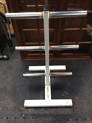 PowerZone Commercial Weight Tree - Plate Holder Stand - Heavy Duty