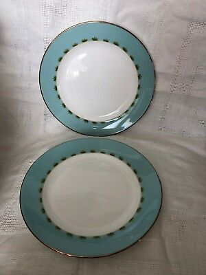 "Lenox British Colonial Tradewind Dinner Plates 11 1/4"" - 2"