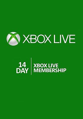Xbox live gold 14 jours Xbox one et 360 , , trial 14 jours !