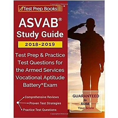 Asvab Study Guide 2018-2019 Test Prep Practice Question Battery Exam Armed
